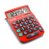 Calculadora Elgin MV-4131 8 Digitos vermelha.