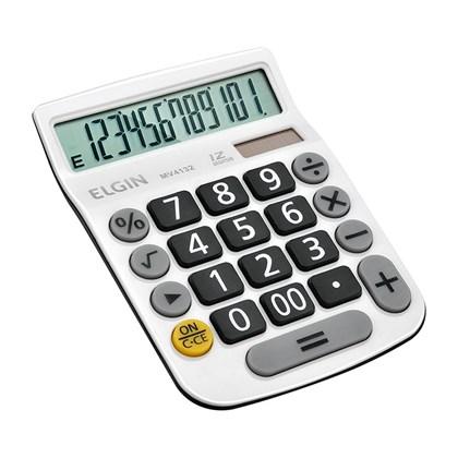 Calculadora Elgin MV-4132 12 Digitos Branca