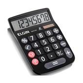 Calculadora Elgin MV-4133 8 Digitos Preta