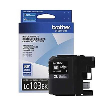 Cartucho de Tinta Brother LC-103BK Preto p/ 600 Páginas