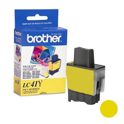 Cartucho de Tinta Brother LC-41Y Amarelo p/ 400 Páginas