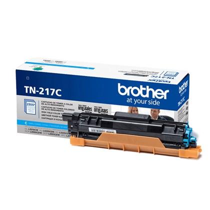 Cartucho de Toner Brother TN-217C Ciano p/ 2.300 Páginas