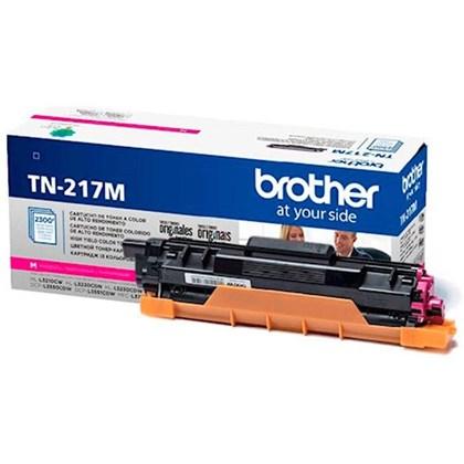 Cartucho de Toner Brother TN-217M Magenta p/ 2.300 Páginas