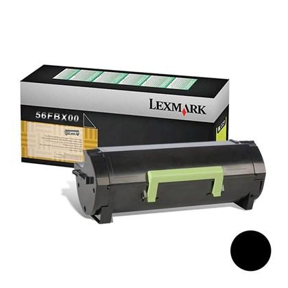 Cartucho de Toner Lexmark 56FBX00 Preto p/ 20.000 Páginas