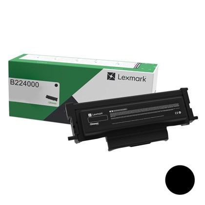 Cartucho de Toner Lexmark B224000 Preto p/ 1.200 Páginas