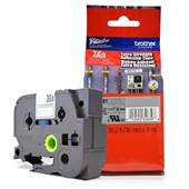 Fita Extra Forte p/ Rotulador Brother TZeS-661 Preto Sobre Amarelo 36mm