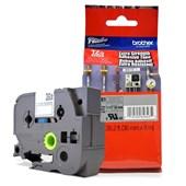 Fita Extra Forte p/ Rotulador Brother TZeS-961 Preto Sobre Prateada 36mm