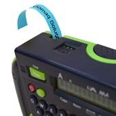 Fita para Rotulador Brother M-531 Preto Sobre Azul 12mm
