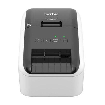 Impressora Térmica p/ Etiquetas Brother QL-800